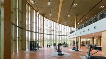 Technogym Village Fitness Raum innen worldofwellness