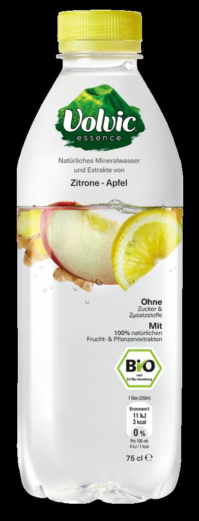 Volvic Essence Zitrone-Apfel Flasche worldofwellness