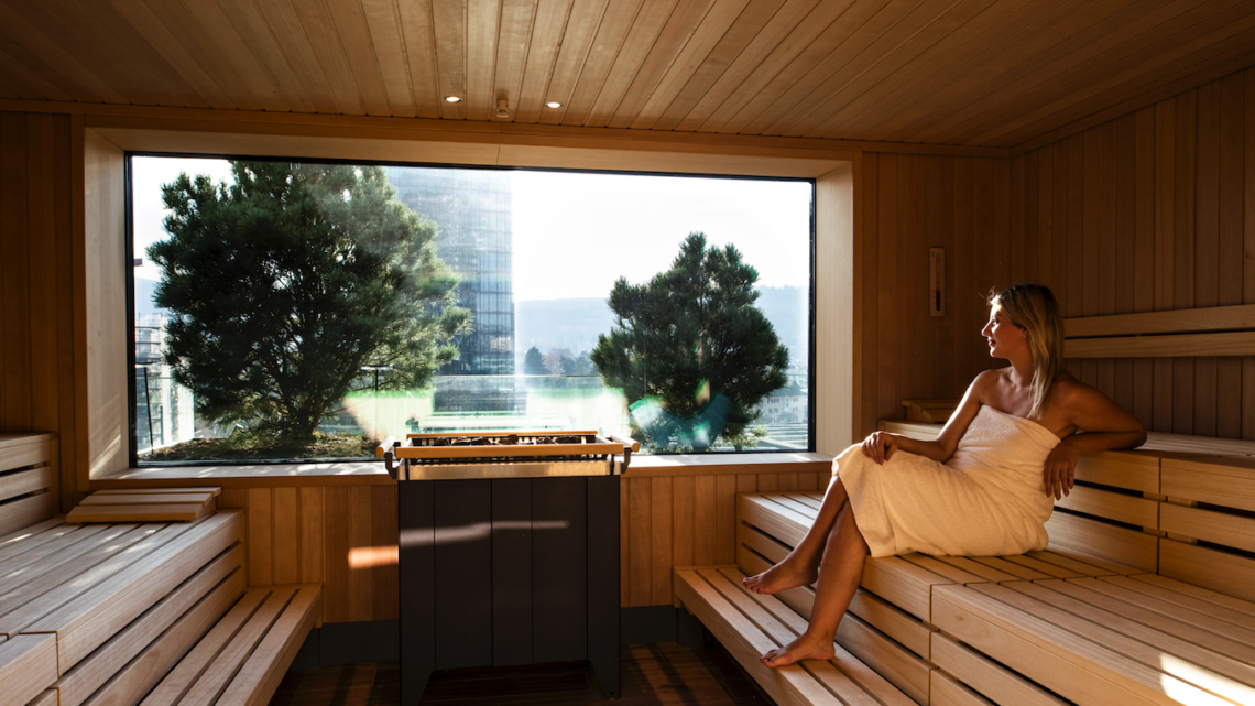 aja City-Resort Zürich Sauna worldofwellness