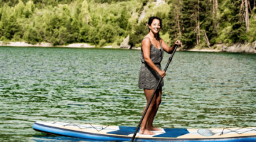 MOHR life resort Sommer Stand Up Paddling worldofwellness