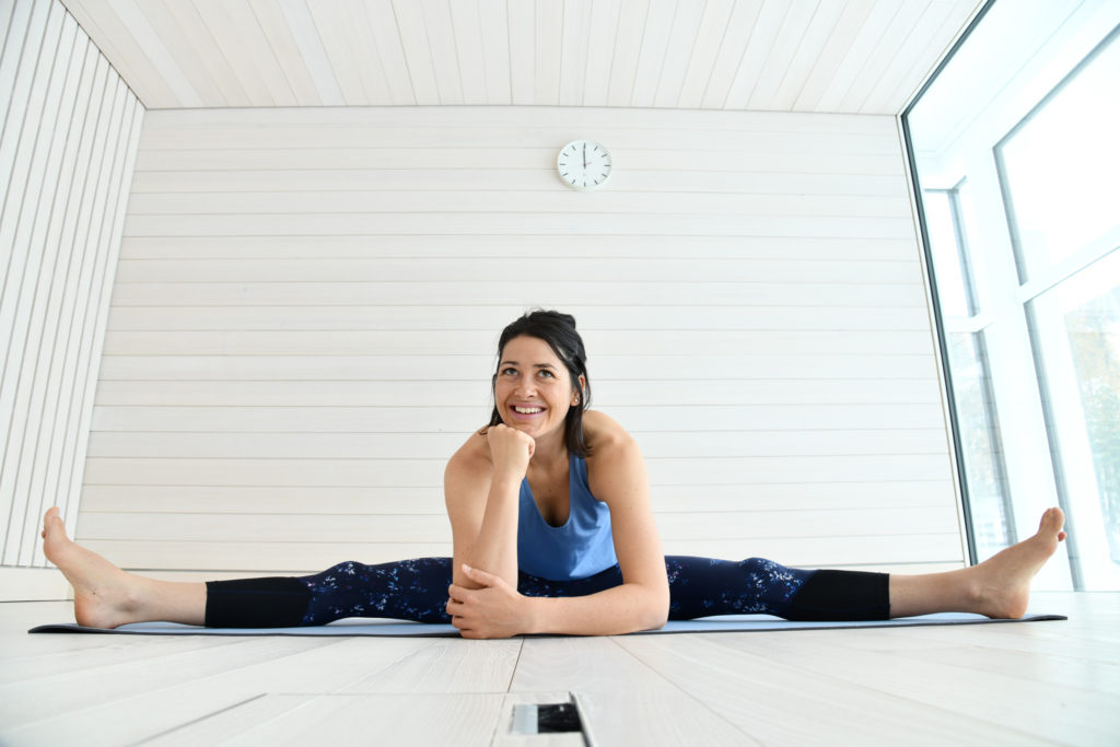 Yoga meets Weggis Vitznau Ursina Badilatti Luzern Tourismus worldofwellness