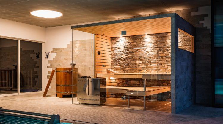Gewinnspiel Hotel Waldegg Engelberg Küng Sauna Bio Sauna Naturstein Designofen worldofwellness