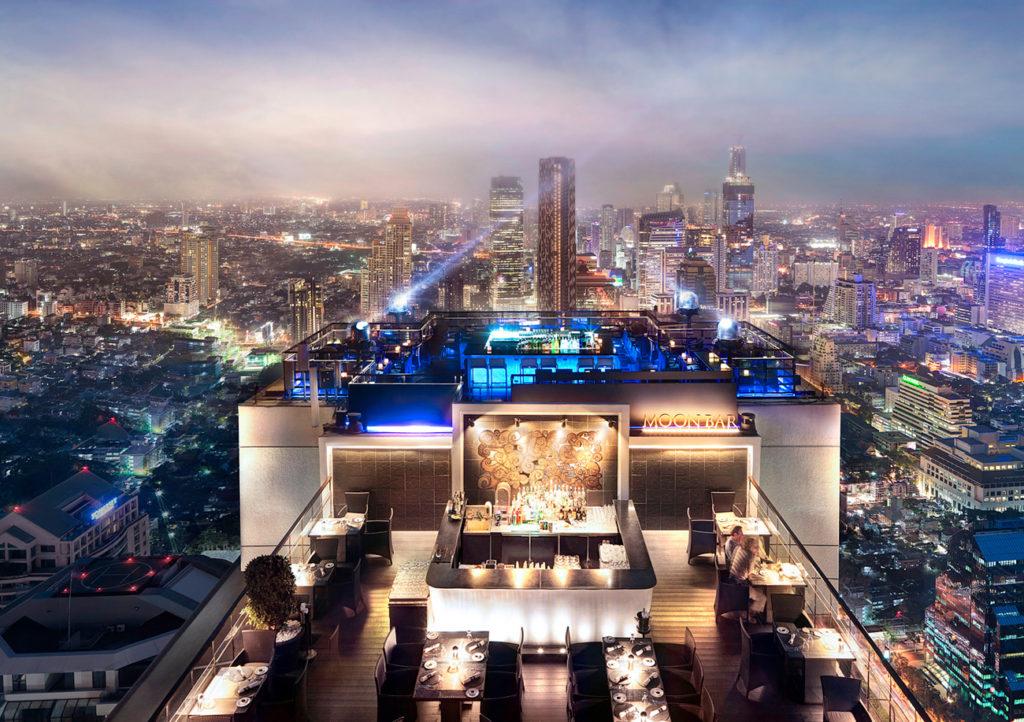 Luxus Rooftop-Bars weltweit Banyan Tree Bangkok Intosolworldofwellness