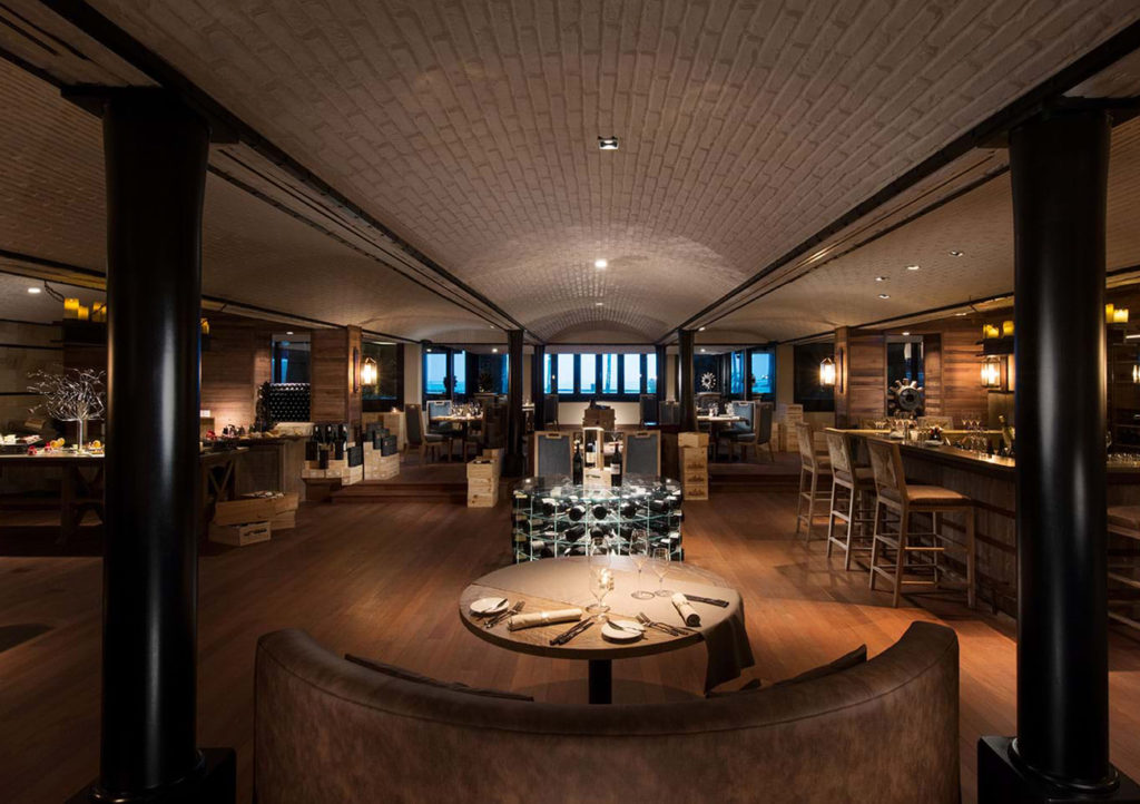 Gourmet Restaurants Blue Penny Cellar © INTOSOL Holdings PLC worldofwellness