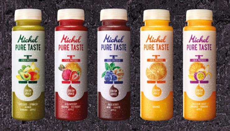 Michel Pure Taste kaltgepresste Säfte Rivella AG worldofwellness