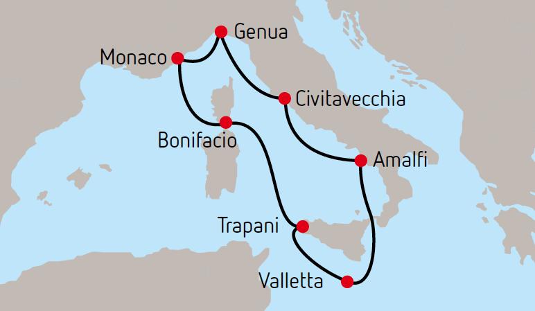 Country Cruise Hotelplan Kreuzfahrt Reiseroute worldofwellness