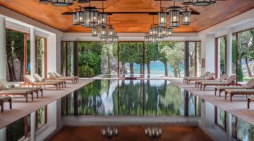 Indoor Pools Aman Sveti Stefan worldofwellness