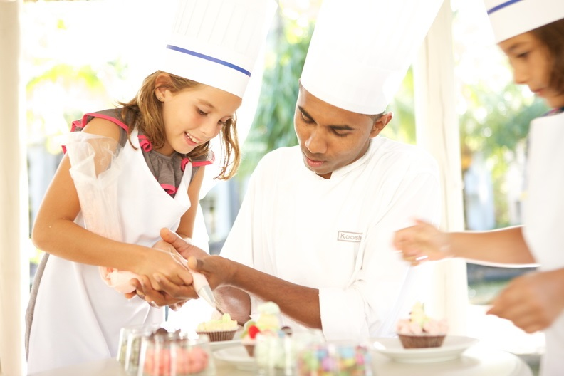 LUX Resorts The Lux Collective Kids Cake workshop worldofwellness